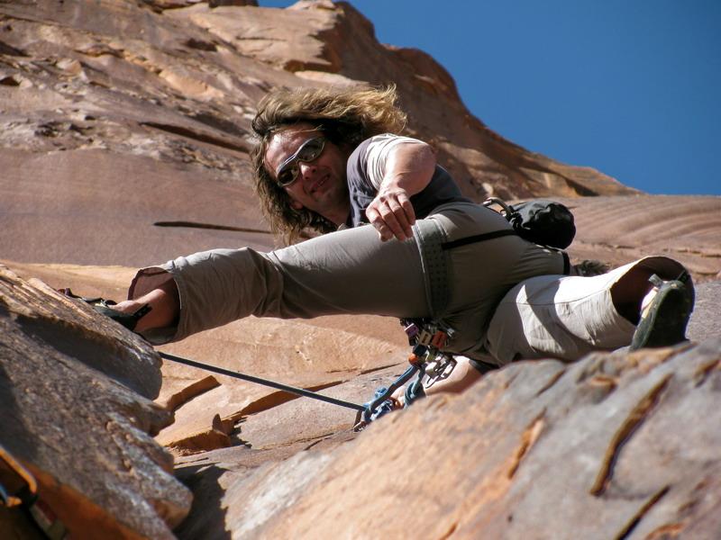 lezenie v Utahu